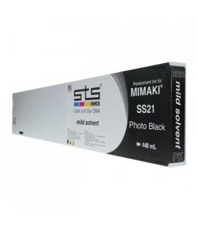 Mimaki SS21 Mild-Solvant - Cartouche 440ml - Encre STS INKS